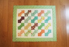 Birds & Berries by Lauren & Jessi Jung Small Quilts, Mini Quilts, Dollhouse Quilt, Bowtie Pattern, Tie Quilt, Miniature Quilts, Doll Quilt, Fabric Birds, Quilted Wall Hangings