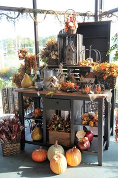 Decorations For Your Thanksgiving! #peacefulvalleyfurniture