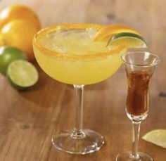 Italian Margarita!  My new favorite drink!      1 oz amaretto almond liqueur  2 oz sweet and sour mix  1/2 oz Jose Cuervo® Especial gold tequila  1/2 oz triple sec