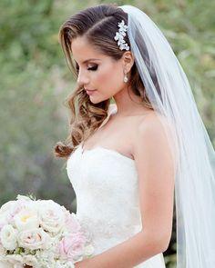 Maddie Rhinestone Comb, Bridal Hair Accessories, Bridal Hair Comb Headband, Hair Jewelry Wedding Hair Side, Wedding Hair Pieces, Wedding Hair And Makeup, Wedding Hair Accessories, Gown Wedding, Lace Wedding, Wedding Cakes, Wedding Rings, Wedding Dresses