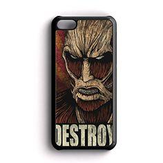 Attack on titan Destroy AM iPhone 5c Case Fit For iPhone 5c Rubber Case Black Framed FRZ http://www.amazon.com/dp/B016NNQ3E4/ref=cm_sw_r_pi_dp_R8hmwb0V031SK