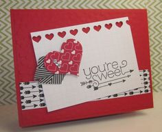 Stampin' Up!,You Plus Me,DIY valentines,Hearts Border Punch,Stacked With Love Designer Series Paper Stack,Sweetheart Punch