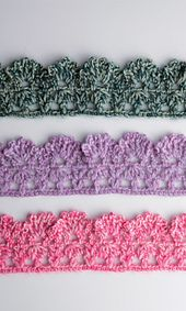 Cute crochet edging pattern on Ravelry: Amicomo Edging 1 pattern by Pierrot