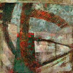 The Old Cells Studio - Michèle Brown Art: Mining equipment - iPad painting