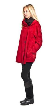 0c41fc4522144 Mini red Mycra Pac raincoat  goinginstyle  style  coat Travel Raincoat