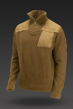 image of Fjällräven Men's Stuga Sweater in Umbra