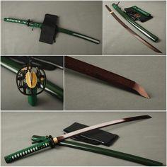 Juan Folded Red Steel Katana Samurai Sword