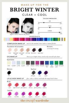 BRIGHT WINTER | Make-up Palette