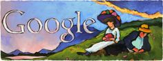 Doodleando, Los Logos de Google: 137 aniversario del nacimiento de Gabriela Münter