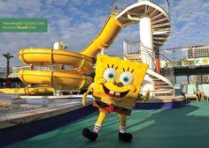 Norwegian Cruise Line Nickelodeon at Sea #Travel #Cruise #Nickelodeon #Spongebob