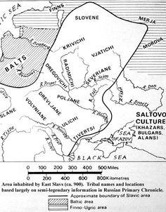 Kievan Russia, around 900.  From http://xenohistorian.faithweb.com/russia/