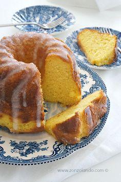 Ciambella alla ricotta e limone - Ricotta and lemon bundt cake | From Zonzolando.com