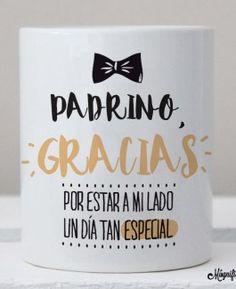 """Taza """"Gracias Padrino"""""""