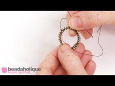 How to do Circular Brick Stitch on the Interior of a Form