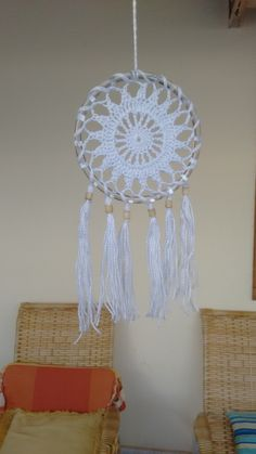 Diy And Crafts, Arts And Crafts, Shabby Look, Woven Wall Hanging, Wooden Beads, Dream Catcher, Tassels, Traditional, Blanket