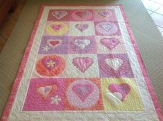 Quilt for little girl.