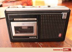 Grundig Unitra - my first tape player
