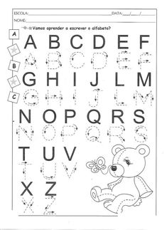1 million+ Stunning Free Images to Use Anywhere Preschool Learning Activities, Alphabet Activities, Kindergarten Worksheets, Worksheets For Kids, Kids Learning, Free Printable Alphabet Worksheets, Handwriting Worksheets, Alphabet Writing, Preschool Writing