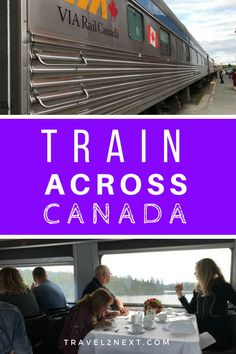 Across Canada Train Across Canada. What it's like to journey aboard VIA Rail in Canada. Train Across Canada. What it's like to journey aboard VIA Rail in Canada. Travel Guides, Travel Tips, Travel Hacks, Travel Packing, Packing Lists, Travel Deals, Travel Essentials, Budget Travel, Vacation Deals