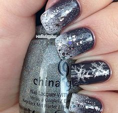 Winter Nail Design