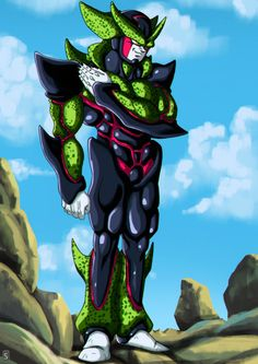 Hyper Perfect Cell by bloodsplach on @DeviantArt
