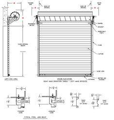 B56e72f886f6b20267eac04b385d2544 Jpg 235 247 Roll Up Garage Door Garage Door Sizes Garage Door Types