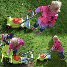 Kinderarbeit im Hause Wilde ;-) #garten #gartenspaß #momblogger #mamablog #mybaby