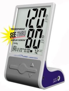 Samsung BSD-3007 Deluxe Thinline Flat Screen Blood Pressure Monitor Heartbeat #samsung