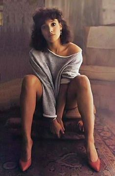 jennifer beals | Jennifer Beals as Alex in Flashdance 1983