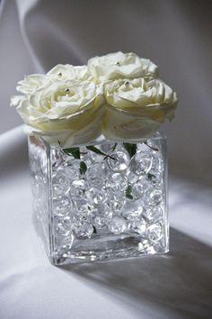 Rózsa asztaldísz