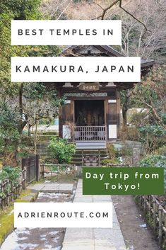 A Kamakura day trip is a must-do when visiting Tokyo, not only for the Giant Buddha, but also for the beautiful temples in Kamakura. My Kamakura day trip guide will show you the best places to visit in Kamakura: temples! Set in serene, natural scenery, these temples will show you the meaning of zen.