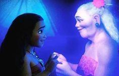 Moana and the spirit of Gramma Tala New Disney Princesses, Disney Films, Disney And Dreamworks, Disney Pixar, Walt Disney, Moana Disney, Disney Love, Disney Magic, Disney Art