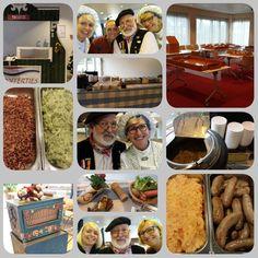 Oud Hollandse Catering Onze specialiteiten zijn bijvoorbeeld ambachtelijk gemaakte worstjes, Hoeksche Waardse Gehaktballetjes (al dan niet Halal), stamppot Andijvie met spekjes, Stamppot Hutsspot met worstjes, Bruine Bonen, Uitjes, Gekookte of Gerookte Beenham etc. https://www.funenpartymatch.nl/catering.php