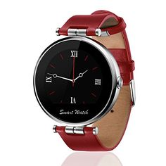 Fantime® Smart Watch Bluetooth Phone Wrist Smartwatch Round Dial Display with Voice Gesture Control/Siri/Magnetic Charging/for iPhone and Android (i9 Red)  http://stylexotic.com/fantime-smart-watch-bluetooth-phone-wrist-smartwatch-round-dial-display-with-voice-gesture-controlsirimagnetic-chargingfor-iphone-and-android-i9-red/