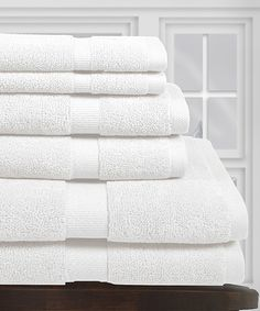Love this White Egyptian Cotton Towel Set by SNS LINENS INC on #zulily! #zulilyfinds
