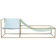 Muller Van Severen, Chaise Longue | From a unique collection of antique and modern chaises longues at https://www.1stdibs.com/furniture/seating/chaises-longues/