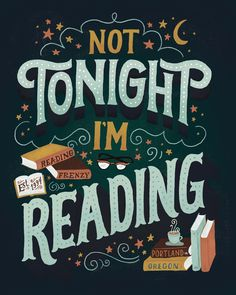 Reading Frenzy print by Mary Kate McDevitt