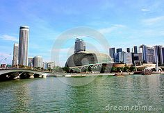 The Marina Bay, Central Business District, famous hotels, are located in this area. One of the modern city in Asia. Newer buildings can be found in this photo.n
