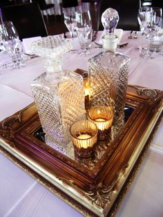 Decanter centerpiece