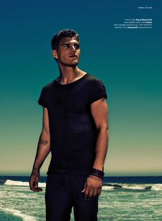 The Boy Who Went Boom! Chris Zylka for Essential Homme