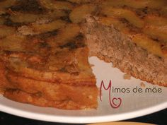 ♥ Mimos de Mãe ♥: Bolo de Maçã com canela e avelãs (Sem manteiga) Chocolate, Banana Bread, French Toast, Breakfast, Desserts, Food, Desert Recipes, Apple Cinnamon, Butter