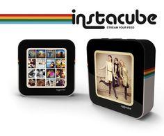 Instacube volvera a poner de moda los marcos digitales para los amantes de Instagram. Disponible durante 2013