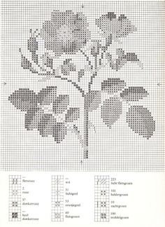 Gallery.ru / Фото #13 - Cross Stitch Pattern in Color - Mosca