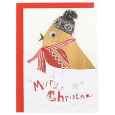 cinnamon aitch robin christmas card