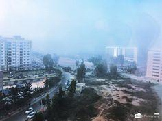 Foggy Morning #bengaluru #cesana #cisco #office #fog #construction #bengaluru_nodi #karnataka_ig