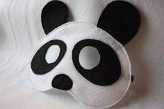 Panda Mask CHILD by oppositeoffar on Etsy, $14.00