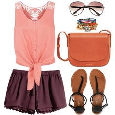 Casual girl outfit by doidaredisturb on Polyvore featuring polyvore fashion style Monsoon H&M Aéropostale Linda Farrow