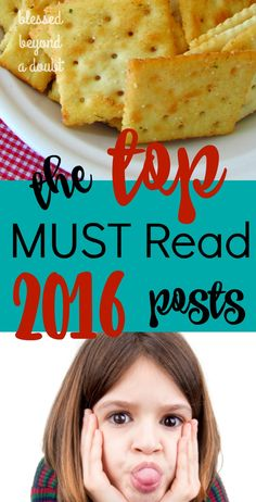Grab a cup of tea and read the top 10 blog posts from 2016 for the busy mom. Which one will you read first?