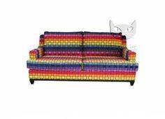 Oryginalna sofa z funkcją spania.