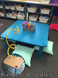Alternate Seating Low Table Great For Small Group Or Independent Work Kinder Doodles